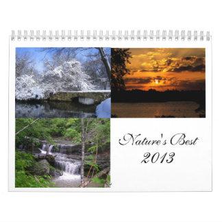 El mejor calendario 2013 de la naturaleza