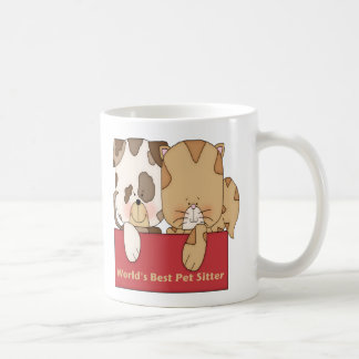 El mejor canguro del mascota del mundo tazas de café