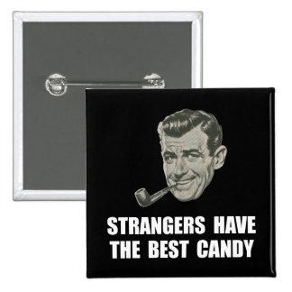 El mejor caramelo de los extranjeros pin cuadrada 5 cm