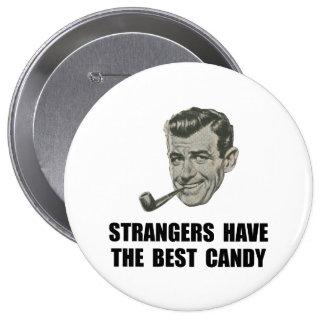El mejor caramelo de los extranjeros pin redondo 10 cm