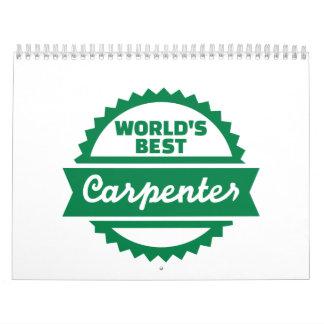 El mejor carpintero del mundo calendarios
