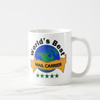 El mejor cartero del mundo taza de café