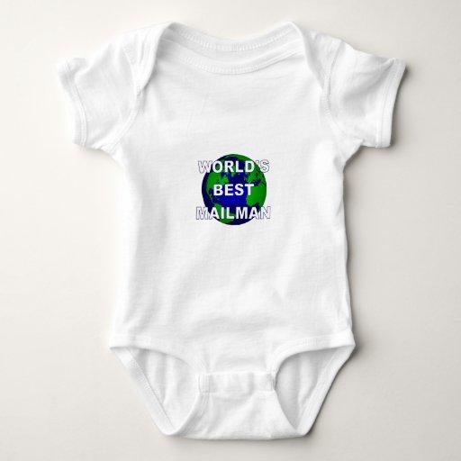 El mejor cartero del mundo tee shirt