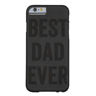 El mejor caso del iPhone 6 del negro el   del papá Funda Para iPhone 6 Barely There