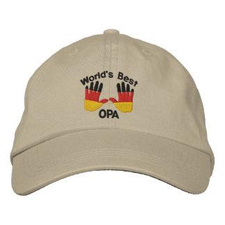 El mejor casquillo bordado OPA del mundo Gorra Bordada