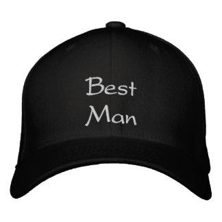 El mejor casquillo del bordado del mejor hombre gorra bordada