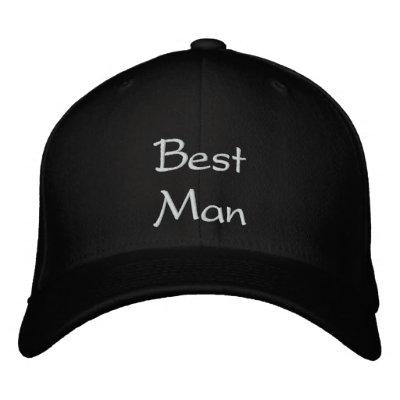 El mejor casquillo del bordado del mejor hombre gorro bordado