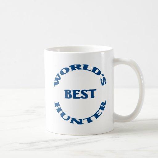 El mejor cazador del mundo taza de café