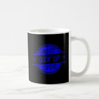 El mejor chupa para arriba siempre azul taza clásica