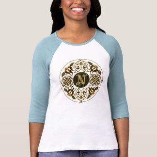 El mejor clásico del monograma de N vio grande Camiseta