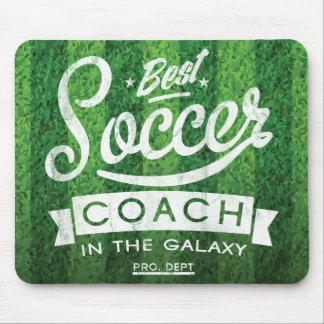 El mejor coche del fútbol en la galaxia mouse pads