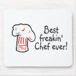 El mejor cocinero de Freakin nunca Alfombrilla De Raton