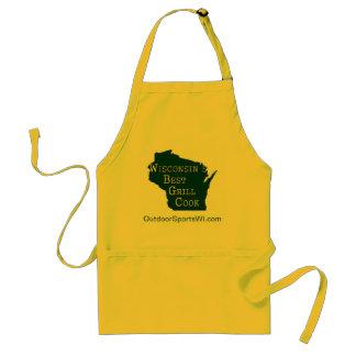 El mejor cocinero de la parrilla de Wisconsin - Delantal