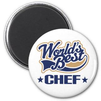 El mejor cocinero de los mundos imán de frigorífico