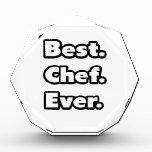 El mejor. Cocinero. Nunca