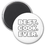 El mejor cocinero nunca iman para frigorífico