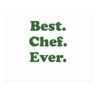 El mejor cocinero nunca postal