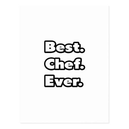 El mejor. Cocinero. Nunca Postales