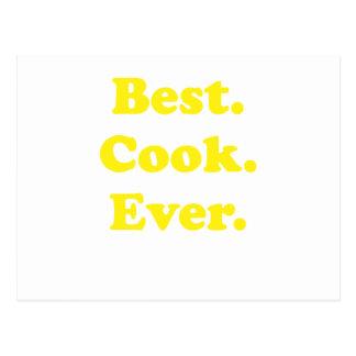 El mejor cocinero nunca tarjetas postales
