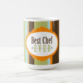 ¡El mejor cocinero nunca! Taza