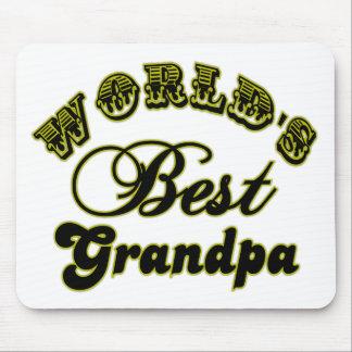 El mejor cojín de ratón del abuelo del mundo alfombrilla de raton