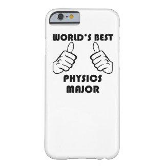 El mejor comandante de la física del mundo funda de iPhone 6 barely there