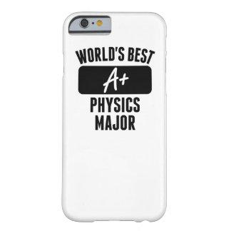 El mejor comandante de la física del mundo funda para iPhone 6 barely there