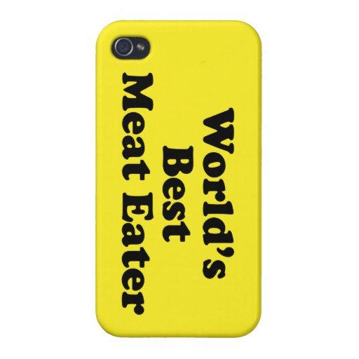 El mejor comedor de la carne del mundo iPhone 4/4S fundas