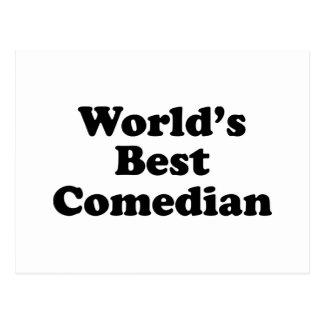 El mejor cómico del mundo postal