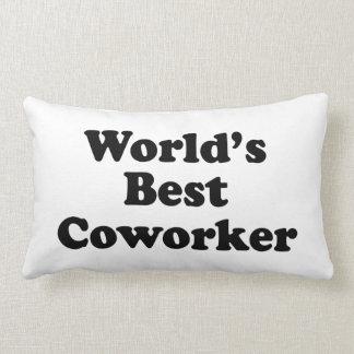 El mejor compañero de trabajo del mundo cojin