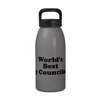 El mejor concejal del mundo botella de agua
