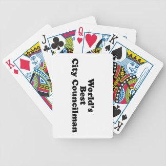 El mejor concejal del mundo barajas de cartas