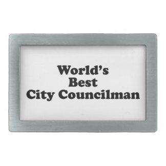 El mejor concejal del mundo hebillas cinturón