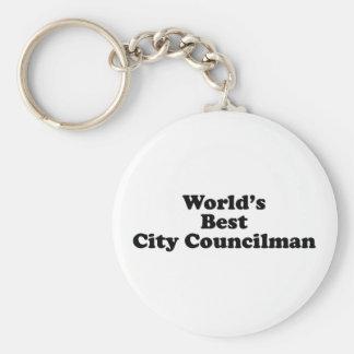 El mejor concejal del mundo llaveros personalizados
