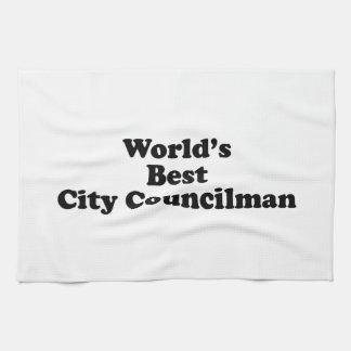 El mejor concejal del mundo toallas de mano