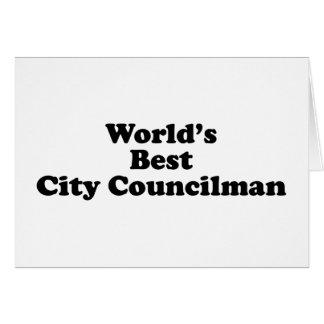 El mejor concejal del mundo tarjetas