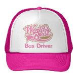 El mejor conductor del autobús de los mundos rosad gorros