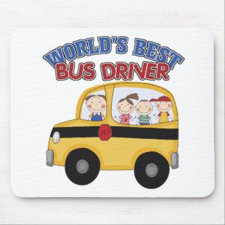 El mejor conductor del autobús del mundo mousepad