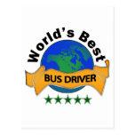 El mejor conductor del autobús del mundo postal
