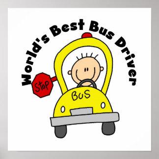 El mejor conductor del autobús del mundo póster