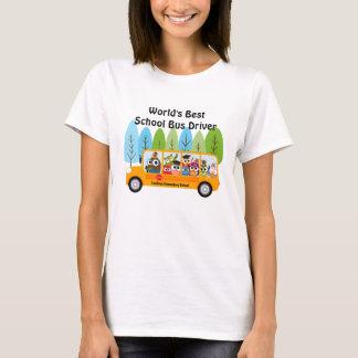 El mejor conductor del autobús escolar del mundo playera