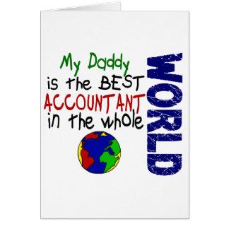 El mejor contable en el mundo 2 papá tarjetas