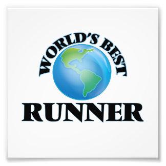El mejor corredor del mundo fotografía