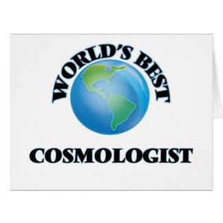 El mejor cosmólogo del mundo felicitaciones