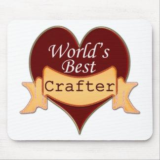 El mejor Crafter del mundo Tapetes De Raton