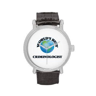 El mejor criminalista del mundo reloj de mano
