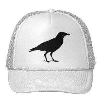 El mejor cuervo Halloween del negro del precio Gorros Bordados