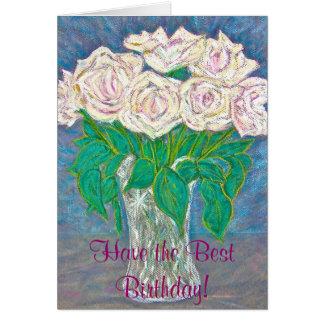 El mejor cumpleaños tarjeta de felicitación