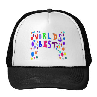 El mejor de los mundos añade el texto gorras