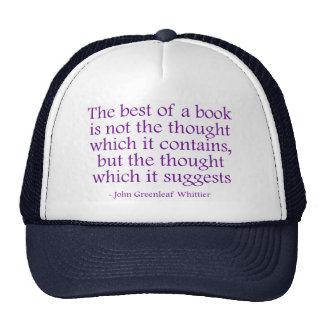 El mejor de un libro gorro